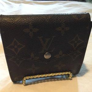 Louis Vuitton Bifold Wallet & coin pocket Brown
